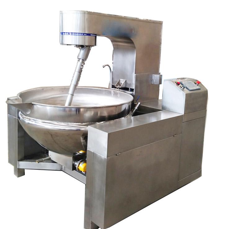 可倾式半自动电磁高端夹层锅