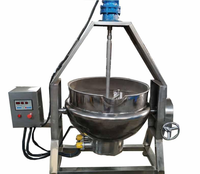 梨膏熬制电加热半自动夹层锅