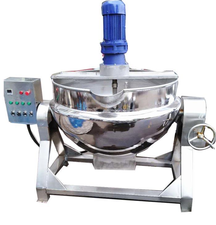 热油搅拌夹层锅