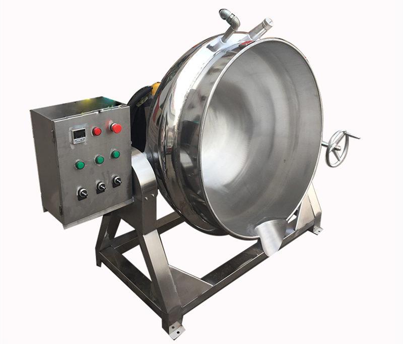 无烟加热锅---电加热导热油夹层锅生产基地