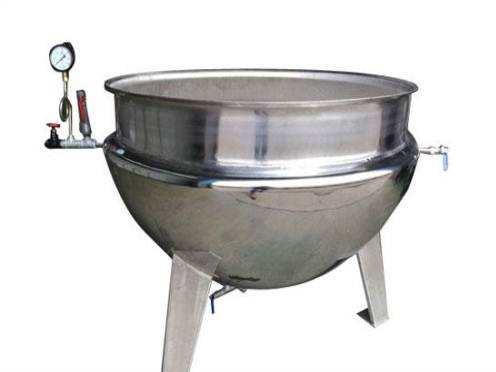 双层蒸汽锅