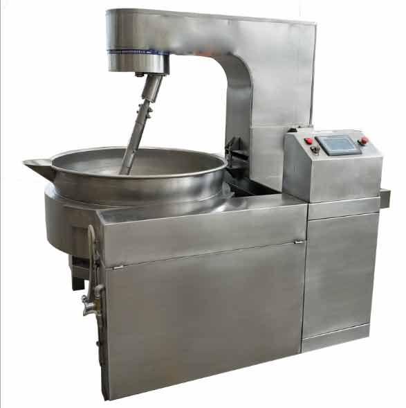 自动液压蒸汽行星搅拌夹层锅