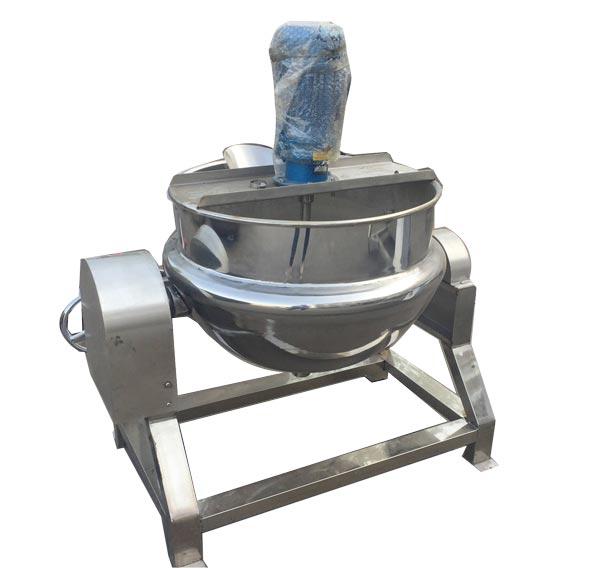 可倾式蒸汽搅拌夹