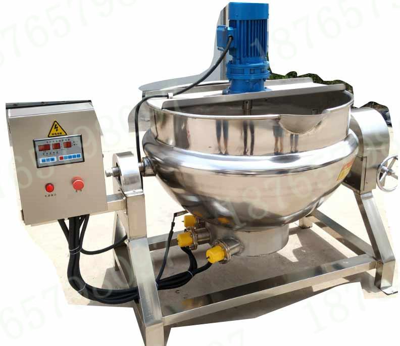 50L电加热pu通搅拌夹层锅