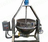 300L电加热人字搅拌夹层锅